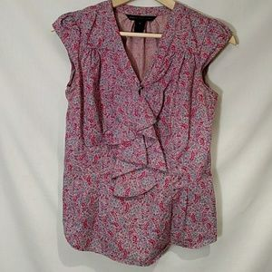 Marc Jacobs sleeveless top with ruffles Size 6